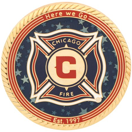 Chicago Fire SC MLS Gold Coin - No Size