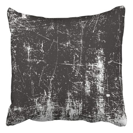 - BPBOP Distressed Overlay Rusted Peeled Metal Grunge Abstract Halftone Pillowcase Cover Cushion 20x20 inch