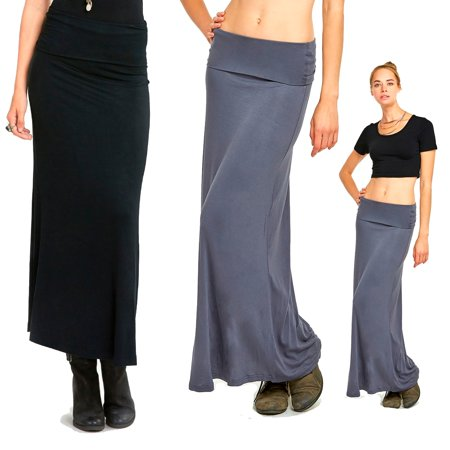 Ladies Full Length A-Line Skirt