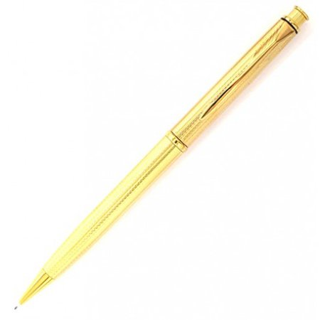Parker Insignia Grain d'Orge Gold Plated Mechanical Pencil Made in USA