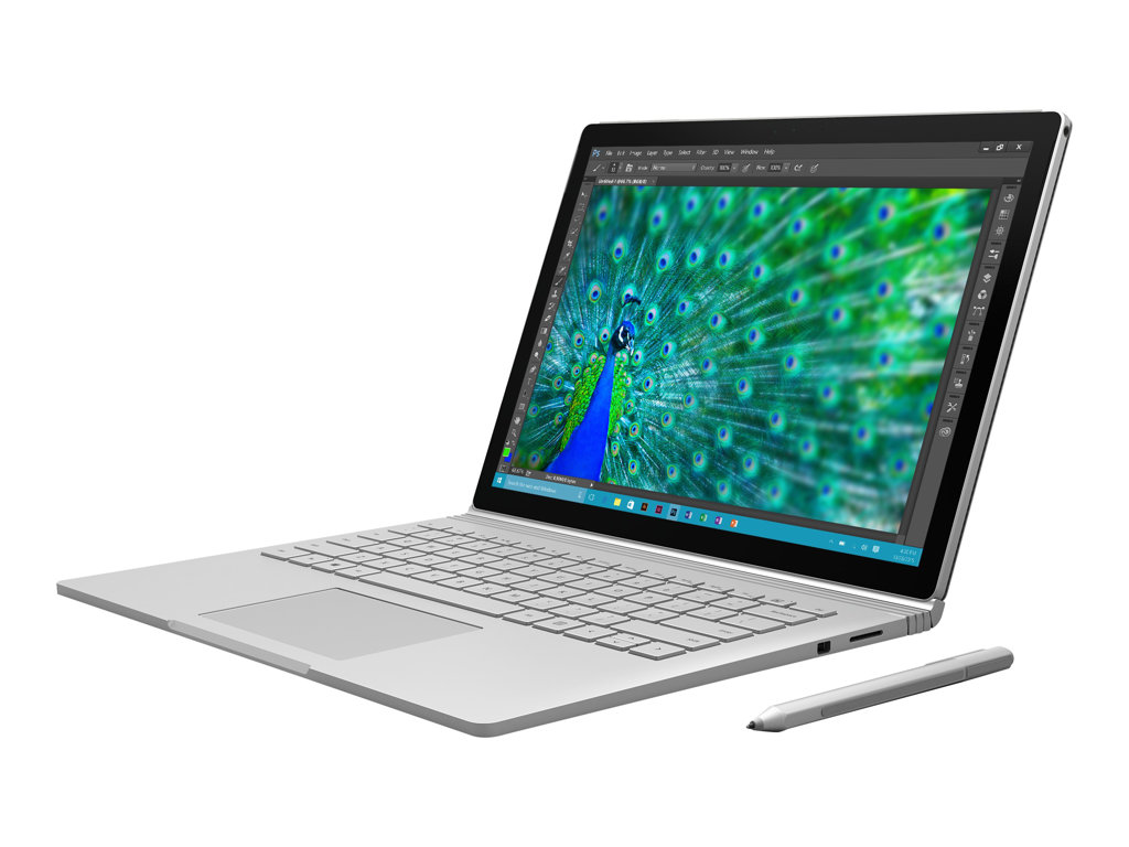 "MICROSOFT FACTORY RECERTIFIED SURFACE BOOK, 13.5"", Intel Core I7-6600U, NVIDIA-GEFORCEGPU, 512GB/SSD, 16GB/ONBOARD, WY9-00001"