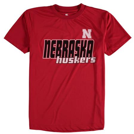 Nebraska Cornhuskers Colosseum Youth Polyester T-Shirt - Scarlet