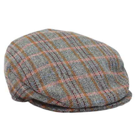 9cba773dd2b New Irish Tweed Flat Cap Grey Plaid from Hanna Hats - Walmart.com