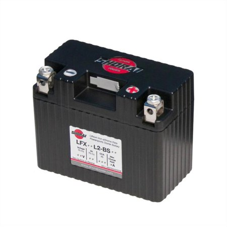 Lion Ion Battery Pack (Shorai LFX14L2-BS12 Lithium Iron Extreme-Rate Battery )