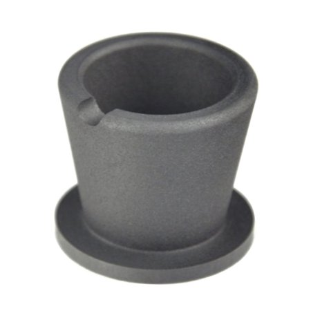 10 Oz Gold Melting Graphite Crucible Cup with Base Jewelry Making Precious Metal Silver Casting Pouring Tool - CRU-0003 (Photo Jewelry Making)
