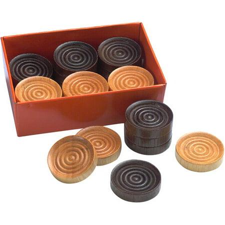 Wooden Checkers (Drueke Wooden Checkers)