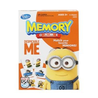 Despicable Me Memory Game By Hasbro by