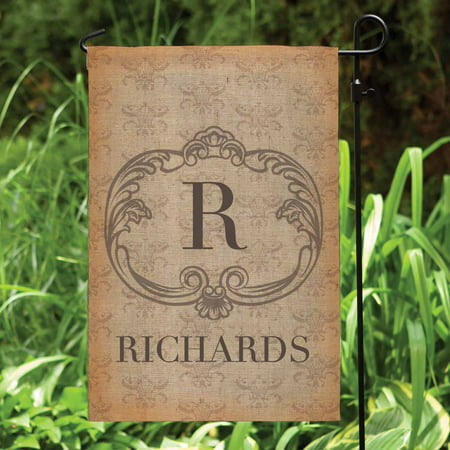 Personalized Garden Flag - Vintage Family