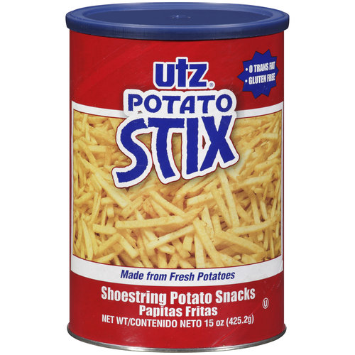 Utz Shoestring Potato Stix, 15 oz
