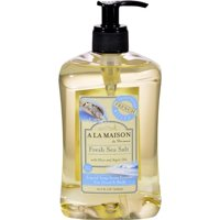 A La Maison French Liquid Soap - Fresh Sea Salt - 16.9 oz Liquid Hand Soap