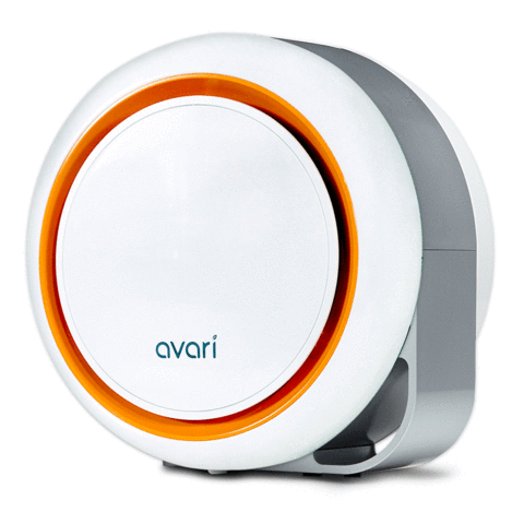 Avari 500 Better than HEPA Air Purifier, Orange
