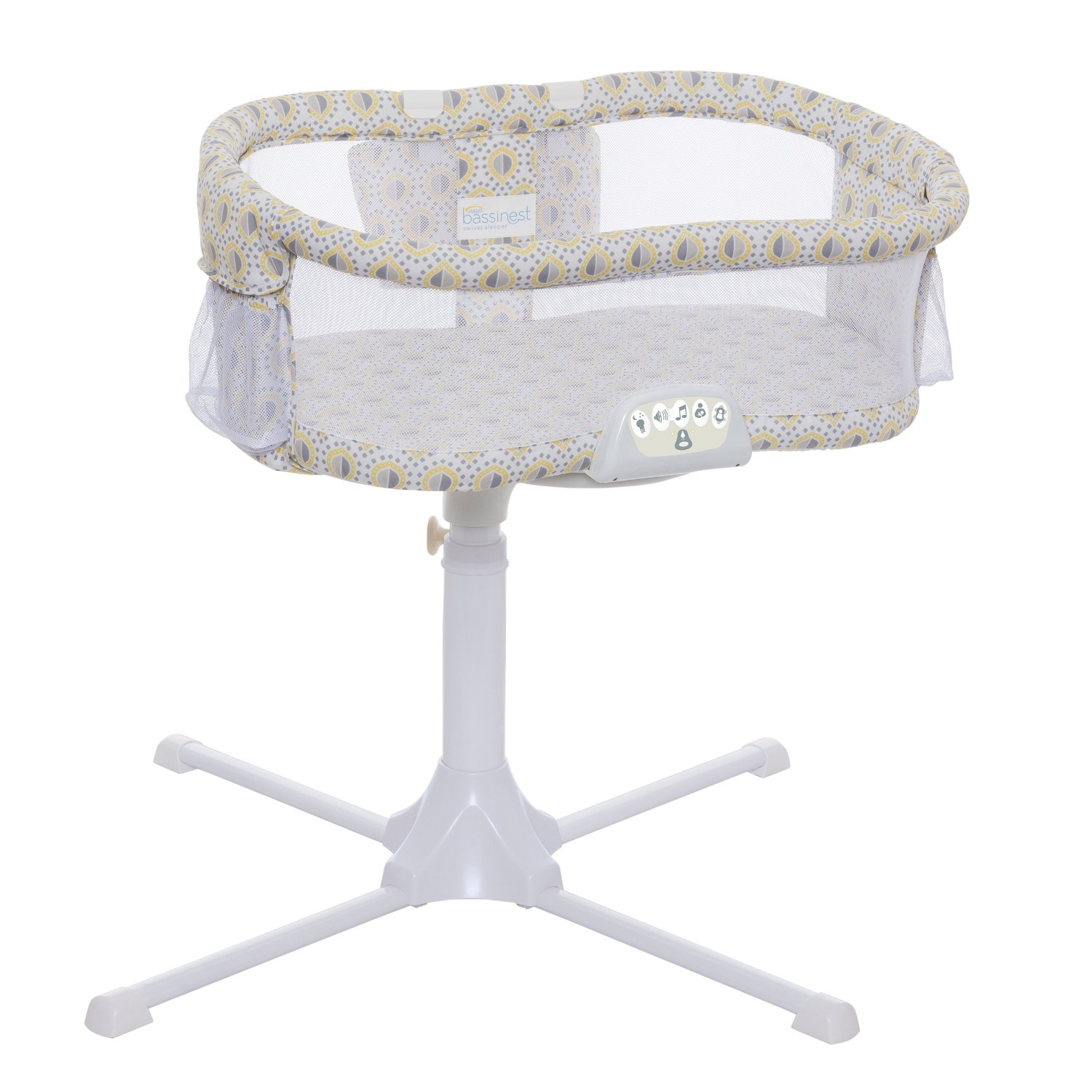 HALO Bassinest Swivel Sleeper Luxe Series Lemon Drop by HALO
