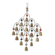 Enticing Metal Bead Bell Wind Chime
