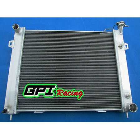 Aluminum Radiator for Jeep Grand Cherokee 5.2L 5.9L V8 1993-1997 94 92 rows 40mm ()
