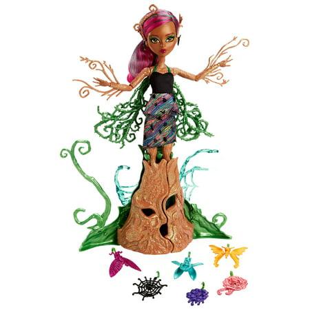 Monster High Garden Ghouls Treesa Thornwillow Doll - Monster High Spectra Vondergeist Dress Up