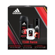76fb21b0d1a7 Adidas Team Force Body Wash, Body Spray and Edt Gift Set for Men, 3 pc
