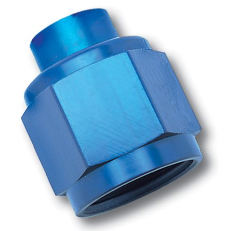 Russell Performance -10 AN Flare Cap (Blue)