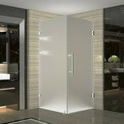 Aston Aquadica GS 34'' x 72'' Hinged Frameless Shower Door