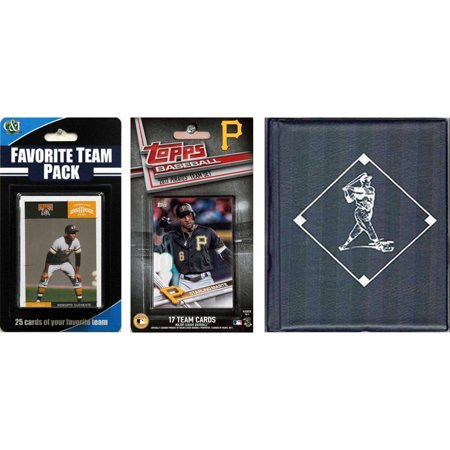 Sports Prayer Card - C & I Collectables MLB Pittsburgh Pirates Licensed 2017 Topps Team Set and Favorite Player Trading Cards Plus Storage Album