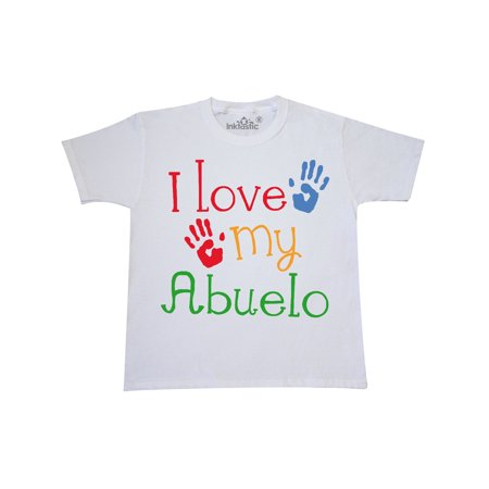 - Abuelo Grandkids Handprints Youth T-Shirt