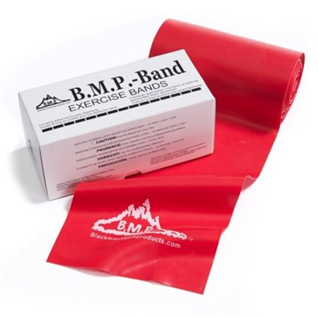 Black Mountain Products TB 6 Yard Red 6 yards Therapy Resistance Band, Red - Extra Heavy