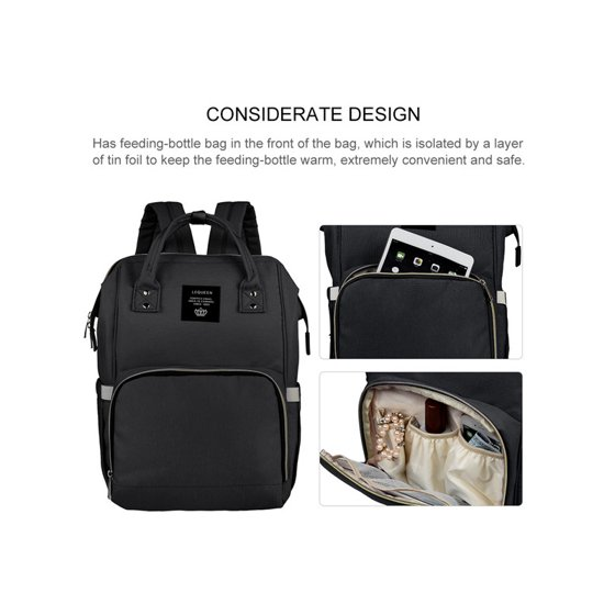 c98e91e0940 Backpack Diaper Bag, Vbiger All-in-One Waterproof Maternity Nappy Bag Large  Capacity Travel Backpack for Baby Care - Walmart.com