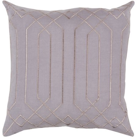 Skyline Gray 22 Inch Pillow Cover