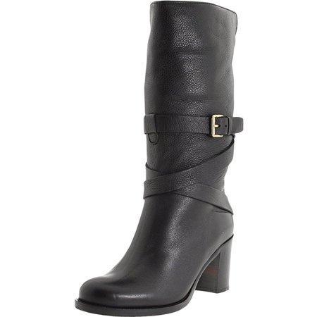 La Canadienne Women's Paulie Black Leather Tall Boots 11M
