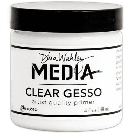 Dina Wakley Media Clear Gesso 4Oz