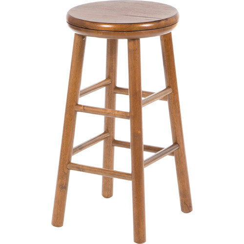 Winsome 24-Inch Charger Swivel Counter Stool - Set of 2