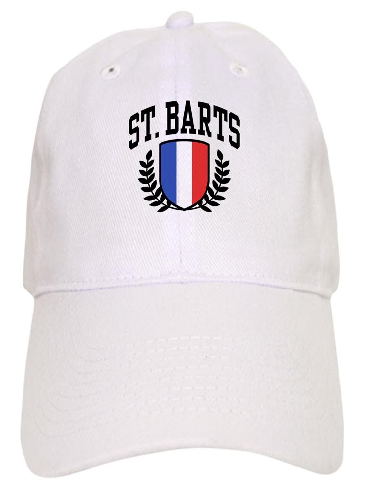 3eff8394c7170 CafePress - St. Barts - Printed Adjustable Baseball Cap - Walmart.com