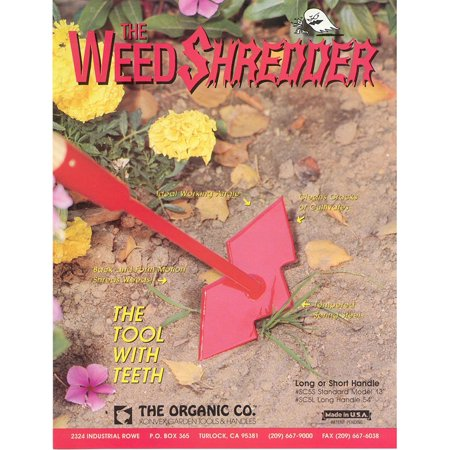 Weed Shredder Hoe, Made in the USA By Garden Tools Wholesale](Accessories Wholesale)