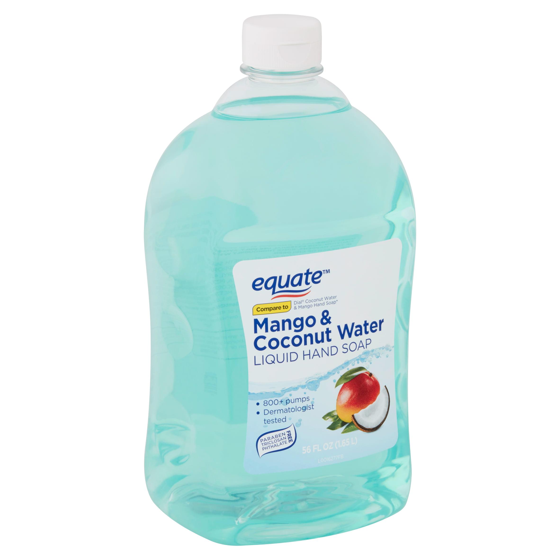 (2 pack) Equate Liquid Hand Soap, Mango & Coconut Water, 56 Oz