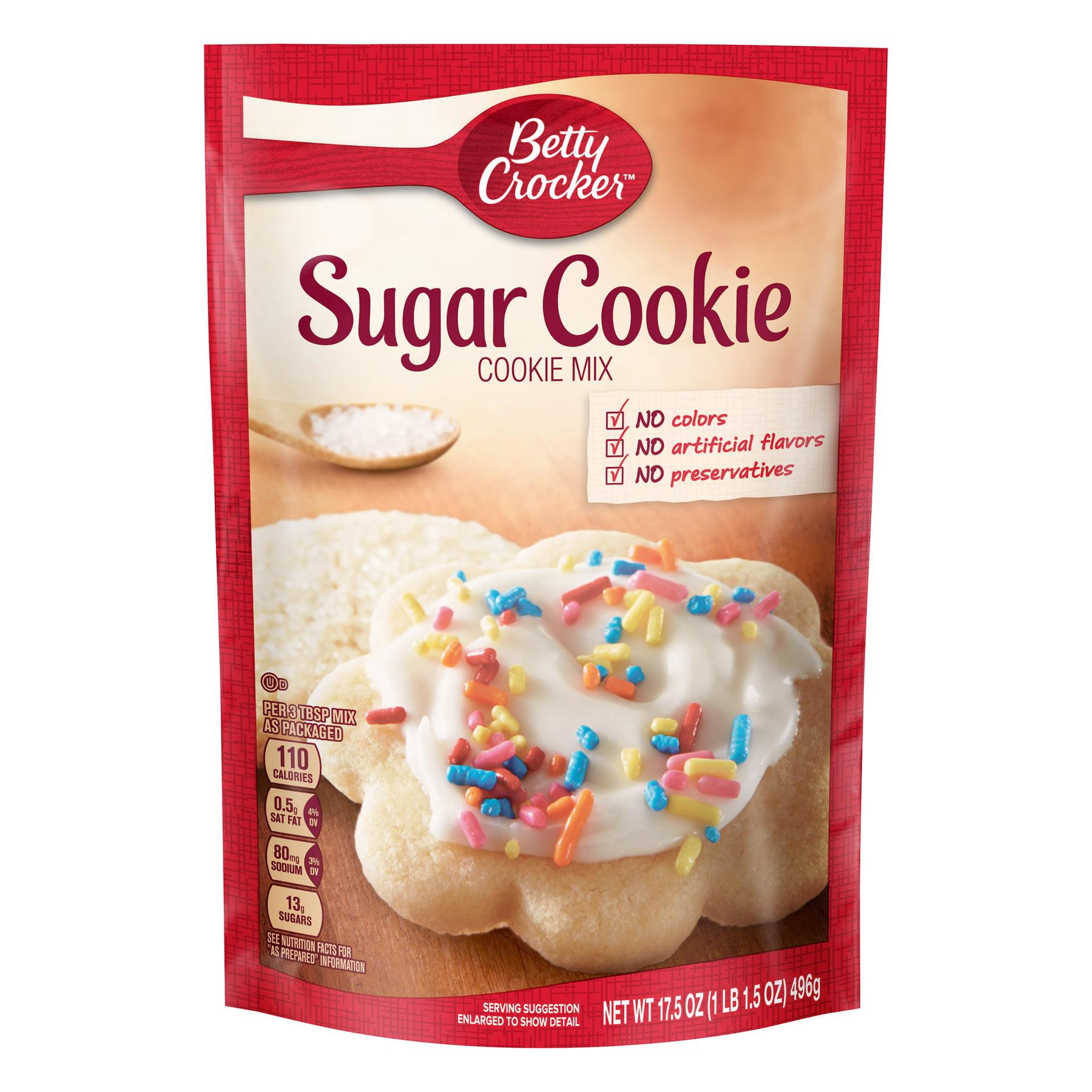 Betty Crocker Baking Mix, Sugar Cookie Mix, 17.5 Oz Pouch