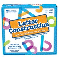 Learning Resource® Letter Construction Activity Set