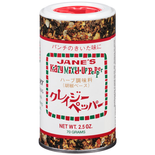 Jane's Krazy Mixed-Up Seasonings Mixed-Up Pepper Marinade & Seasoning, 2.5 oz