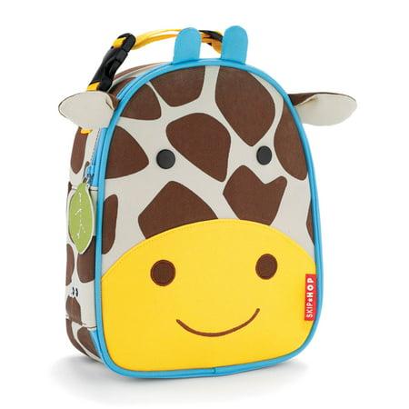 Skip Hop Lunch Bag - Skip Hop Zoo Lunchie Insulated Lunch Bag, Giraffe