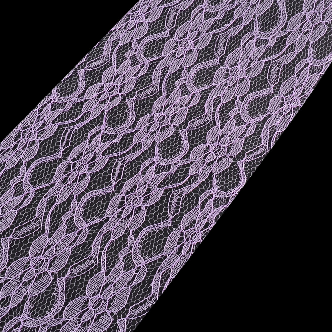 Party Lace Banquet Hall Decor Tulle Spool Roll Light Purple 6 Inch x 25 Yards - image 3 of 5