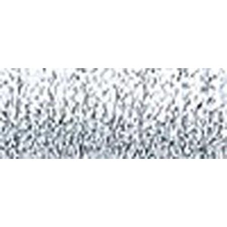 - Kreinik Very Fine Metallic Braid #4 12yd-Hi Luster Silver
