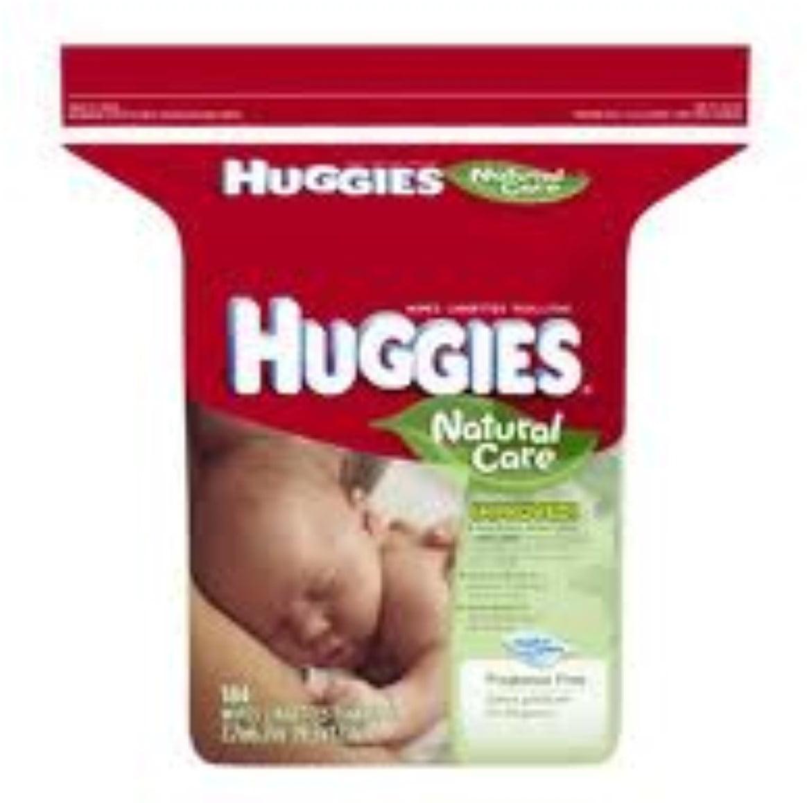 Huggies Natural Care Fragrance-Free Wipes 184 ea (Pack of 6) by HUGGIES