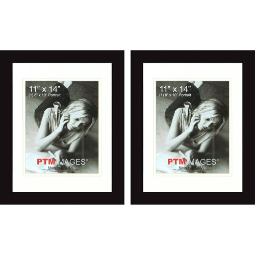 "PTM Images, 11"" x 14"" Photo Frame, Set of 2"