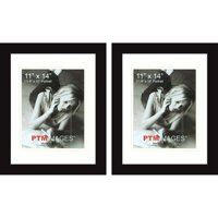 "PTM Images, 11"" x 14"" Photo Frame, Set of 2"