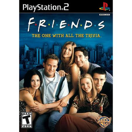 Friends Trivia Game (ps2) - Pre-owned - Walmart com