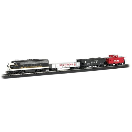 Bachmann Trains Thoroughbred Ready-to-Run Electric Train Set, HO Scale |