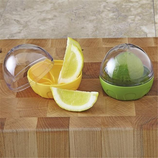 3.33 x 3.33 x 3 in. Green Citrus Keeper, Pack of 12 - image 1 of 1