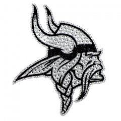 Minnesota Vikings Diamond Bling Auto Emblem - image 1 of 2