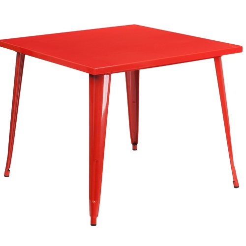 Turn on the Brights Brandt Metal Dining Table