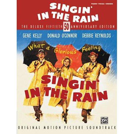 Singin' in the Rain : Piano/Vocal/Chords (Fool In The Rain Piano Sheet Music)