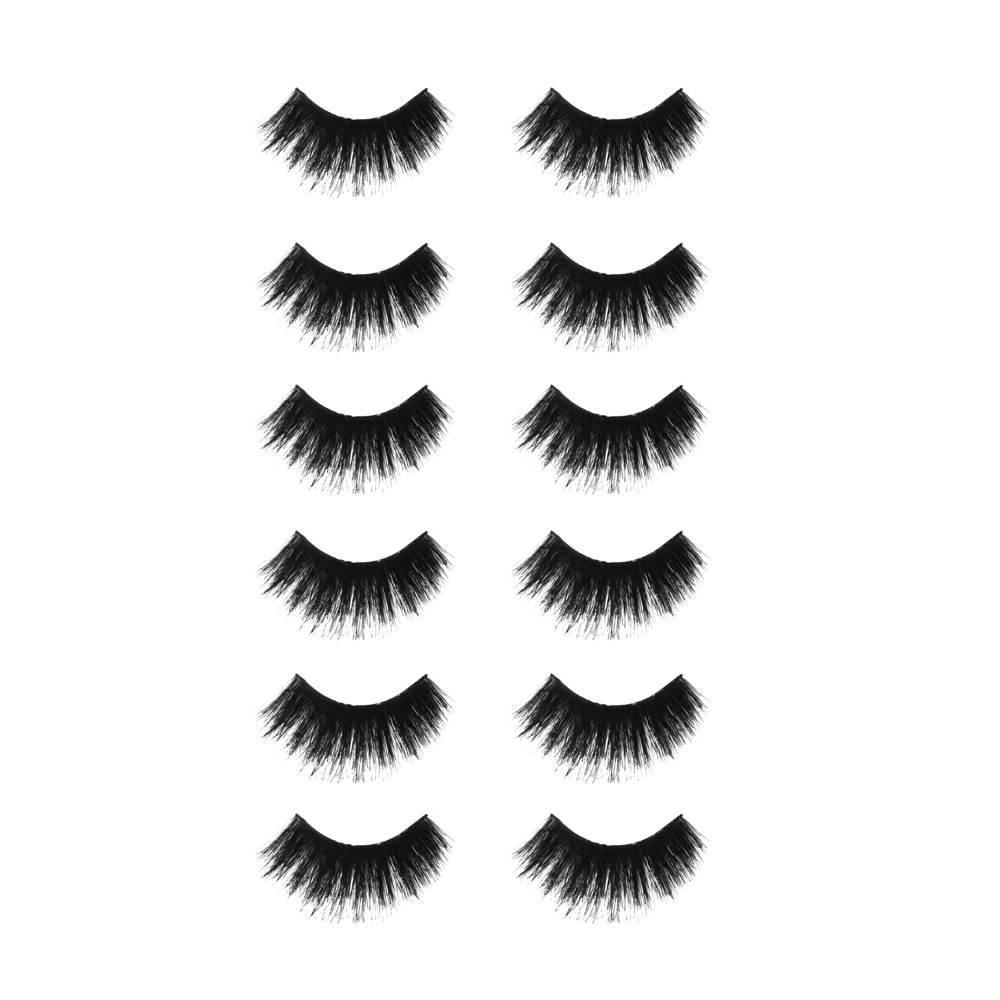 Callas Beau Wing Eyelashes #101 (1 pair x 12 sets)