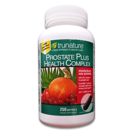 Trunature Prostate Plus Health Complex, 250 Softgels